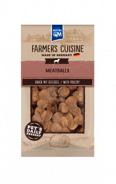 Hundesnack Meatballs mit Geflügel