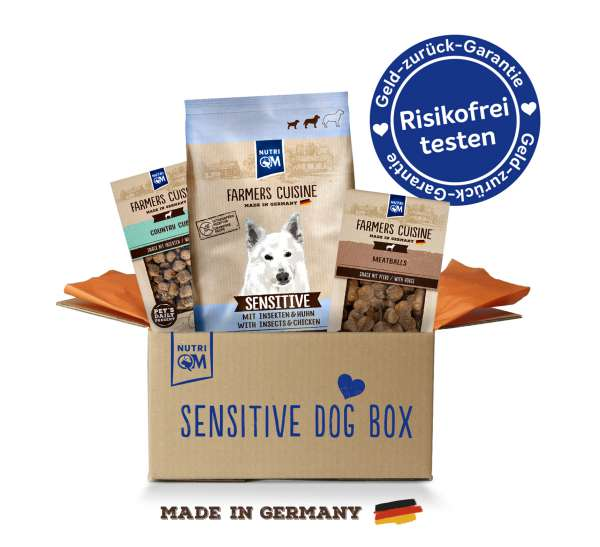 SENSITIVE DOG BOX