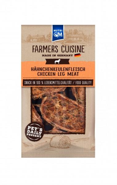 Hundesnack aus Hähnchenkeulenfleisch von NutriQM