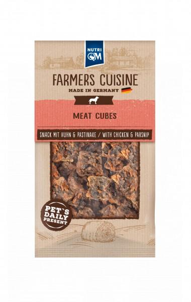 Hundesnack Meat Cubes mit Huhn & Pastinake